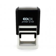 Colop Printer Compensação Q43 - 43 X 43 MM (preto)