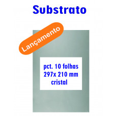 Substrato 297 x 210mm Cristal Carbrink