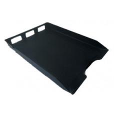 Caixa p/correspondencia simples preta reciclada