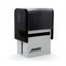 Carimbo Marck 60 x 40 mm nas cores preto (reciclado)