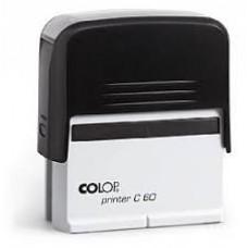 Colop Standard 50 - 30 x 69 mm (preto)