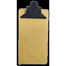 Mini Prancheta eucatex - garra plastica