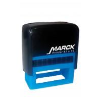 Carimbo Marck 47 x 18 mm preto (reciclado)