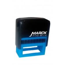 Carimbo Marck 38 x 14 mm preto (reciclado)