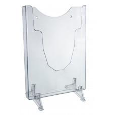 Suporte display de parede e mesa - Cristal