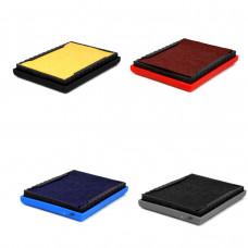 Refil p/car.marck 60 x 40 mm (s/tinta, preto, azul ou vermelho)