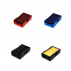 Refil p/car. marck 27 x 10 mm (s/tinta, preto, azul ou vermelho)