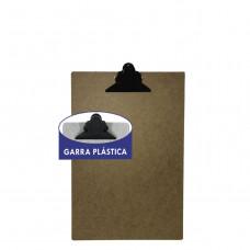 Prancheta HDF...... 1/2 oficio - garra plastica * com 24 peças