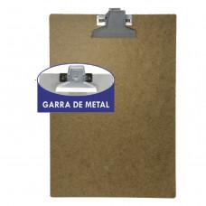 Prancheta HDF 344x230mm - garra metal * com 24 peças