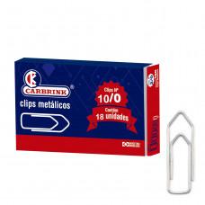 Clips N 10/0 caixa peq. c/ 18 pçs