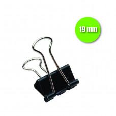 Binder Clip 19 mm - cx. c/ 12 pçs