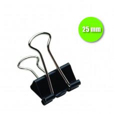 Binder Clip 25 mm - cx. c/ 12 pçs
