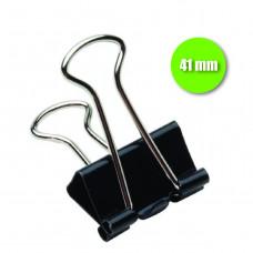 Binder Clip 41 mm - cx. c/ 12 pçs