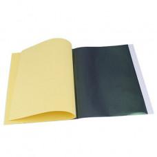 Papel Carbono A4 - 297x210 mm - cx. c/ 100 folhas - Preto