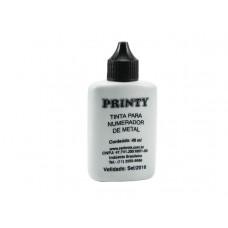 Tinta p/ num. de metal  (40 ml) preto - Nacional