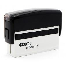 Colop Standard 15 - 10 x 69 mm (preto)