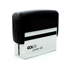 Colop Standard 45 - 25 x 82 mm (preto)