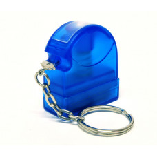 Carimbo Flash HT 10x28mm - chaveiro azul