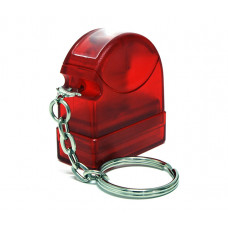Carimbo Flash HT 10x28mm - chaveiro vermelho