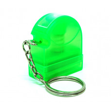 Carimbo Flash HT 10x28mm - chaveiro verde