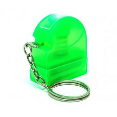 Carimbo Flash HT 10x28mm - chaveiro verde