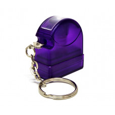 Carimbo Flash HT 10x28mm - chaveiro lilas