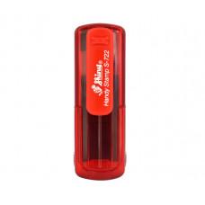 S-723 Handy Stamp 18x47mm vermelho