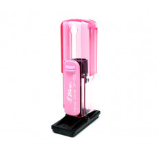 C.F Handy Stamp SP722 - 14x38mm rosa transparente