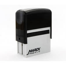 Carimbo Marck 47 x 18 mm preto