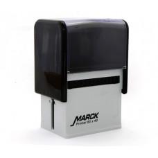 Carimbo Marck 60 x 40 mm nas cores preto