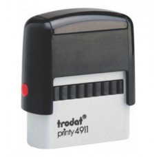 Trodat Printy P2 38x14mm - Preto