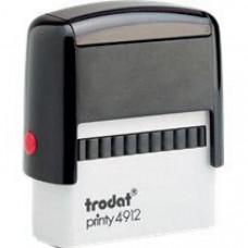 Trodat Printy P2 47x18mm - Preto
