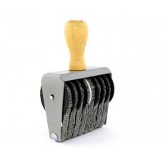 Numerador 10mm c/08 fitas